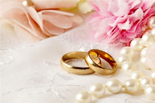 В Калининском районе зарегистрирована 300 супружеская пара!