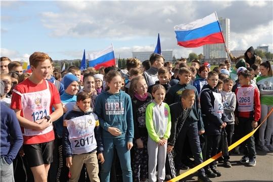 В Чувашии в 16-й раз прошел Всероссийский день бега «Кросс нации»