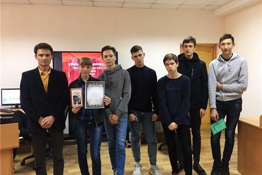 В библиотеке Чебоксарского машиностроительного техникума среди студентов 1 курса начались ежегодные интеллектуальные игры «Брейн-ринг»