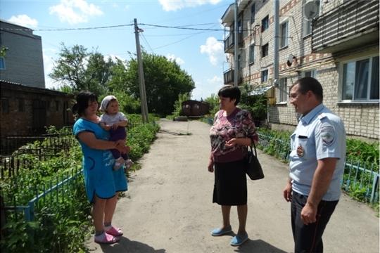 В Шихазанском сельском поселении проведен рейд Совета профилактики