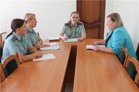 Рабочая встреча по взысканию алиментных платежей