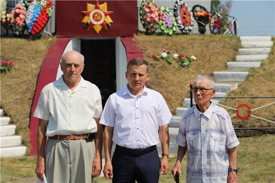 Церемония возложения цветов, посвященная Дню памяти и скорби
