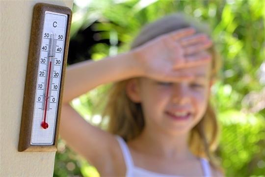 Берегите детей от солнечных и тепловых ударов!