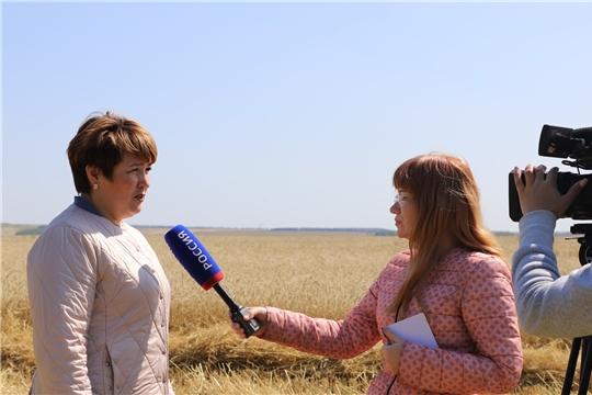 В Комсомольском районе побывала творческая группа журналистов телерадиокомпании ГТРК «Чувашия»