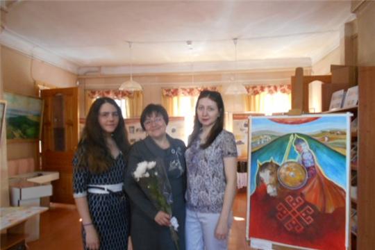 В Доме-музее Н.И. Лобачевского открылась  персональная  выставка Татьяны Лесновой «Счастье-творить».