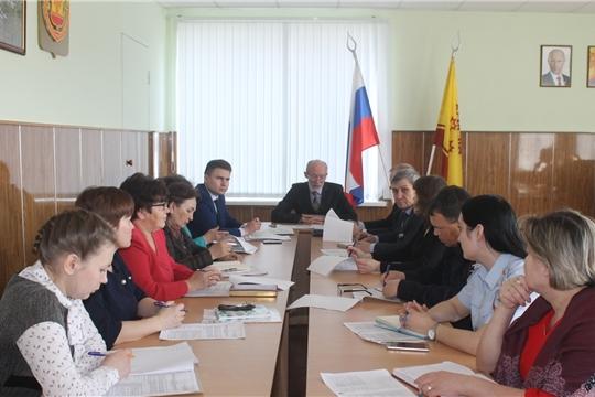 Состоялось заседание организационного комитета по подготовке и проведению празднования в Козловском районе 74-й годовщины Победы в Великой Отечественной войне 1941-1945 годов