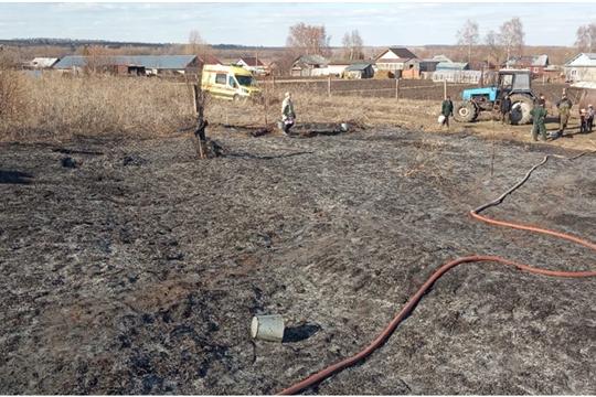 В Козловском районе введен особый противопожарный режим