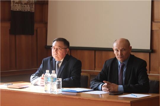 Состоялось очередное 49 заседание собрания депутатов Козловского района шестого созыва