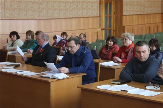 В Козловском районе состоялось заседание Комиссии по профилактике правонарушений