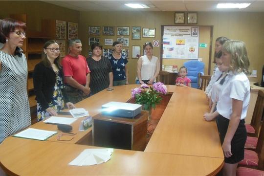 12 июня в межпоселенческой библиотеке вручили паспорта юным гражданам России