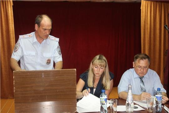 Состоялось выездное заседание Комиссии по профилактике правонарушений в Козловском районе в с.Байгулово