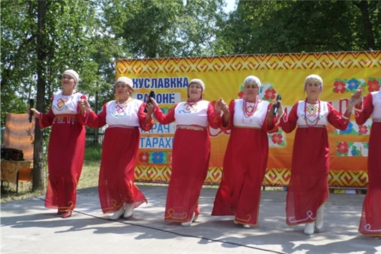 Ансамбль «Нежность» Мало-Бишевского СК на празднике день Карачевского поселения
