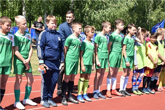 Стартовал региональный этап Всероссийского фестиваля детского дворового футбола.