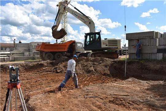 Идет строительство современной школы в Байгуловском сельском поселении