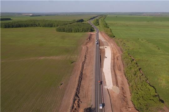 В Козловском районе ведутся работы по капитальному ремонту федеральной трассы М-7 «Волга»