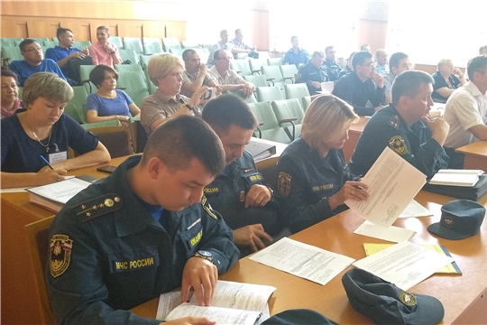 В Козловском районе началось командно-штабное учение