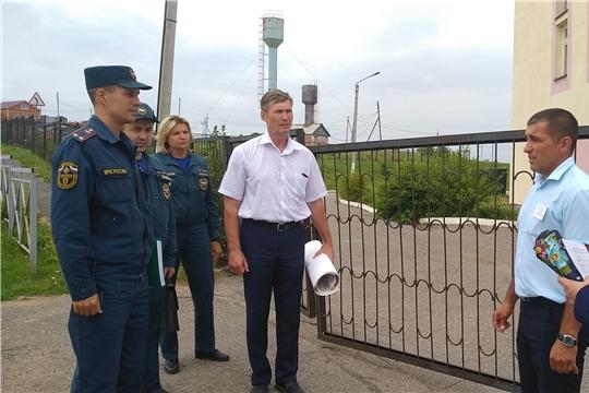 В Козловском районе завершился первый этап командно-штабного учения
