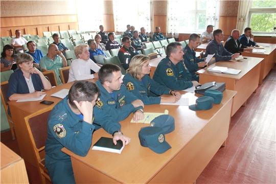 В Козловском районе продолжается командно-штабное учение