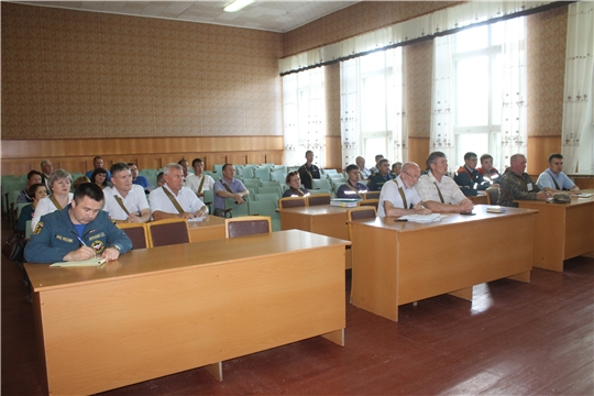 Третий день командно-штабного учения по гражданской обороне в Козловском районе