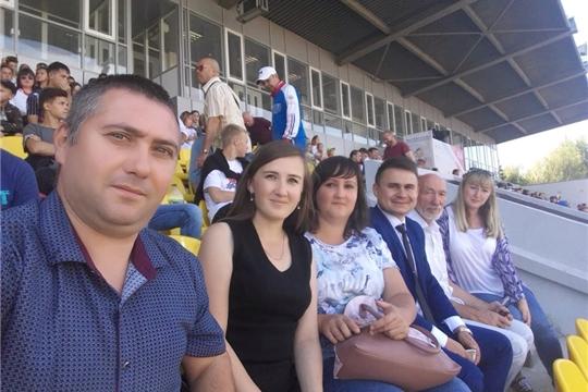 Делегация Козловского района приняла участие в торжественной церемонии открытия чемпионата России по лёгкой атлетике-2019