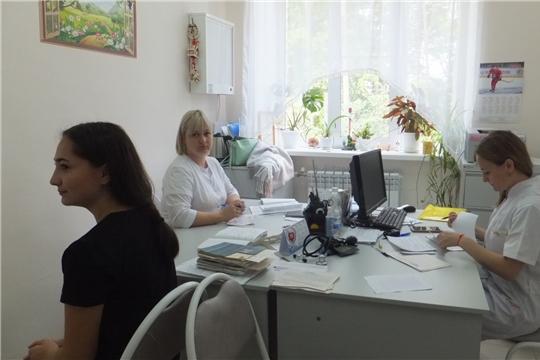 Мобильная бригада врачей проконсультировала маленьких пациентов Козловской ЦРБ
