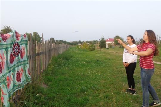 Спортивная игра « Самый меткий» на территории Пиндиковского сельского клуба
