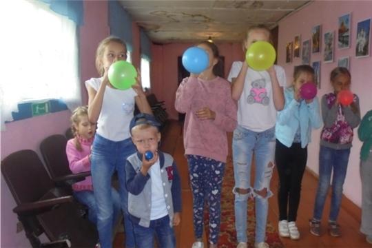 Игровая программа «Весёлый шар» Мало-Бишевском СК