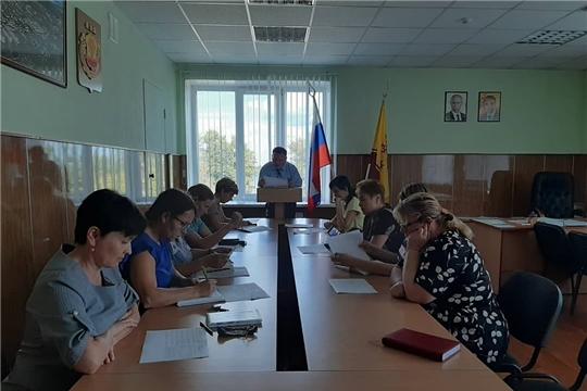 В администрации Козловского района прошло совместное заседание Межведомственной комиссии по вопросам повышения доходов бюджета Козловского района и Рабочей группы по снижению неформальной занятости