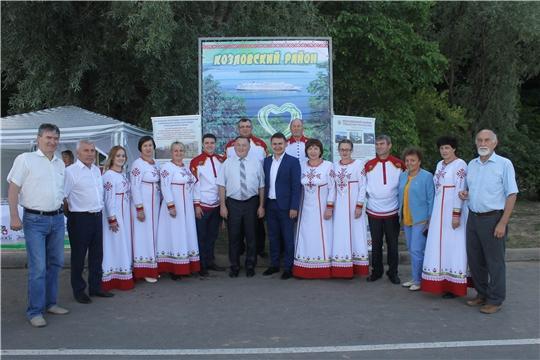 Делегация Козловского района приняла активное участие в мероприятиях посвященных празднованию 550 - летия столицы Чувашии