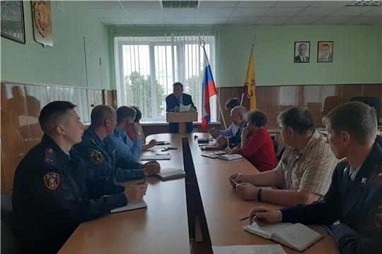 Проведено очередное заседание антитеррористической комиссии  Козловского района
