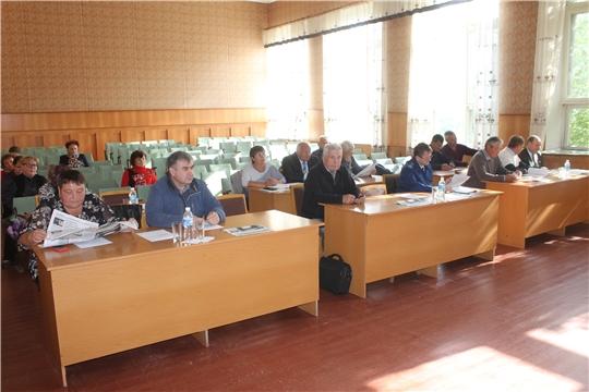 Состоялось очередное 53 заседание Собрания депутатов Козловского района