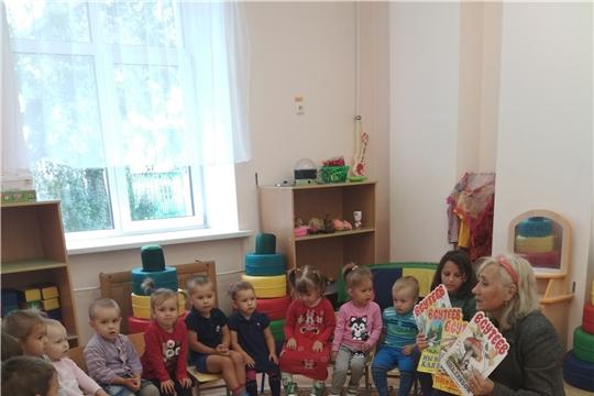 Детский отдел межпоселенческой библиотеки - участник Акции «Книжка на ладошке»