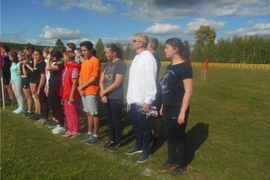 Работники культуры – участники легкоатлетической эстафеты на призы Козловской районной газеты «Знамя»