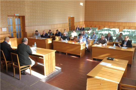Состоялось очередное 54 заседание Собрания депутатов Козловского района