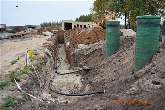 Ход строительства новой школы в с. Байгулово