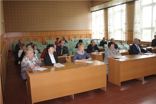 Сегодня в актовом зале администрации Козловского района состоялась первое заседание Комиссии по проведению Всероссийской переписи населения 2020 года на территории Козловского района