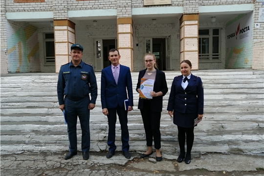 Учебно-тренировочная эвакуация в МБОУ «Карамышевская СОШ»