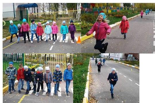 """В детском саду """"Пчелка""""  идёт усиленная подготовка ко Всероссийскому дню бега «Кросс Нации-2019»"""