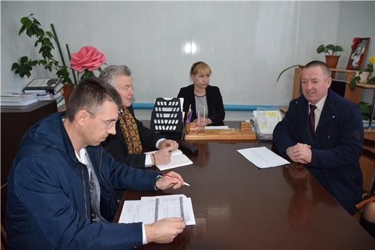 Живой диалог с активом Большеатменского сельского поселения