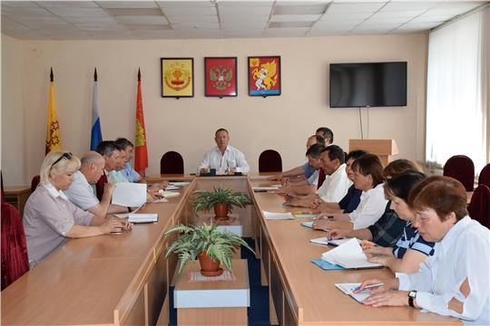 Рабочее совещание с главами сельских поселений