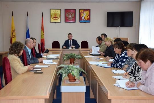 Прошло очередное совещание с главами сельских поселений района