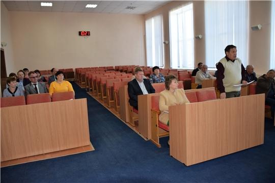 Народные избранники собрались на внеочередное тридцать седьмое заседание Собрания депутатов Красночетайского района