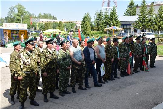 В Красночетайском районе отпраздновали День пограничника