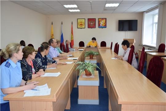 Состоялось очередное заседание комиссии по повышению устойчивости социально-экономического развития Красночетайского района