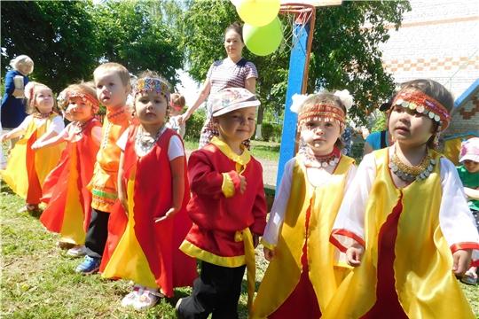 Праздник «Акатуй» в детском саду «Рябинушка»