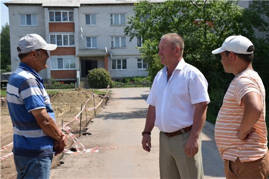 В Красночетайском районе ведется строительство ряда социально значимых объектов