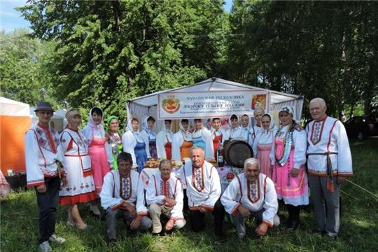 Красночетайские артисты выступили на областном чувашском национальном празднике «Акатуй - 2019» в г.Ульяновск