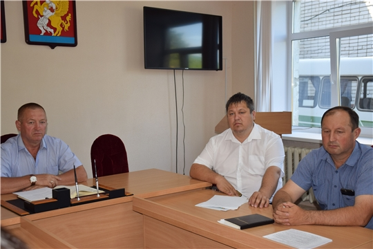 Прошло очередное совещание с главами сельских поселений.