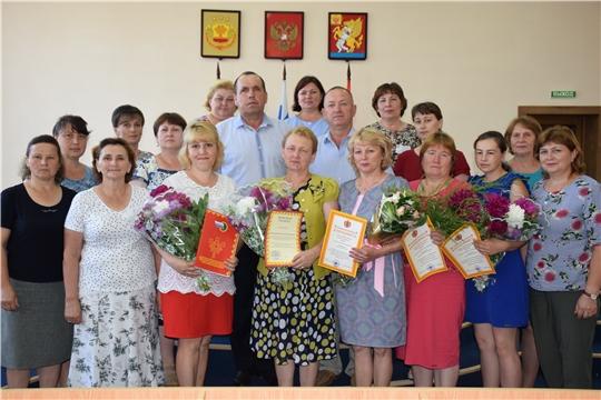 В Красночетайском районе отметили День социального работника