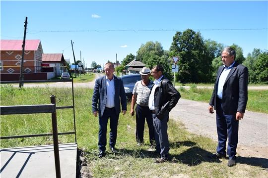 Глава администрации района Александр Башкиров ознакомился с ходом строительных работ